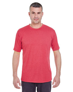 Red Heather Men's Cool & Dry Heather Performance Tee
