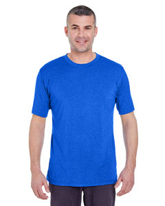 Royal Heather Men's Cool & Dry Heather Performance Tee