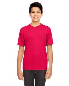 Red Youth Cool & Dry Basic Performance T-Shirt