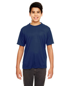 Navy Youth Cool & Dry Basic Performance T-Shirt