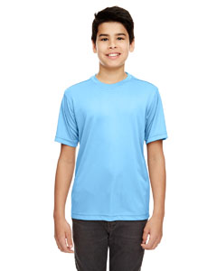 Columbia Blue Youth Cool & Dry Basic Performance T-Shirt