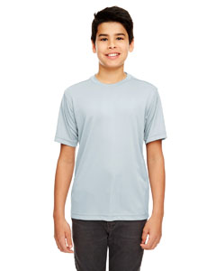 Grey Youth Cool & Dry Basic Performance T-Shirt