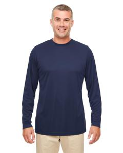 Navy Men's Cool & Dry Performance Long-Sleeve Top