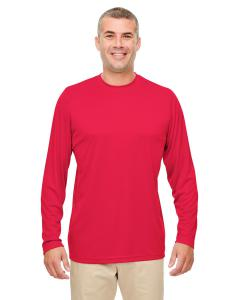 Red Men's Cool & Dry Performance Long-Sleeve Top