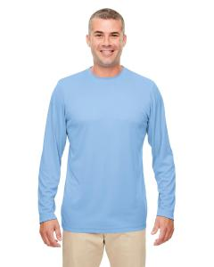 Columbia Blue Men's Cool & Dry Performance Long-Sleeve Top