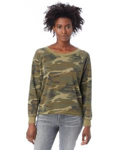 Camo Ladies' Lazy Day Pullover