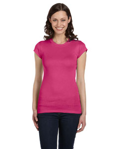 Berry Women's Sheer Mini Rib Short-Sleeve T-Shirt