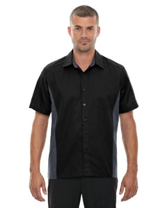 Black 703 Men's Fuse Colorblock Twill Shirt