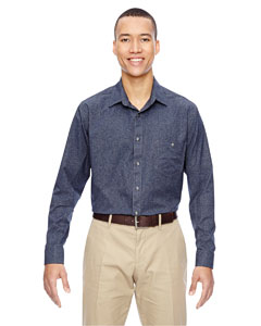 Navy 007 Men's Excursion Utility Two-Tone Performance Shirt
