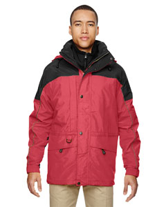 Molten Red 751 Men's 3-in-1 Two-Tone Parka