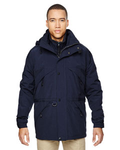Midn Navy 711 Men's 3-in-1 Parka with Dobby Trim