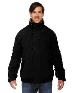 Black 703 Men's 3-in-1 Bomber Jacket