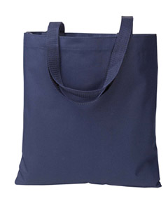 Navy Madison Basic Tote