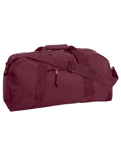 Maroon Game Day Large Square Duffel