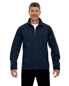 Midn Navy 711 Men's Three-Layer Fleece Bonded Performance Soft Shell Jacket