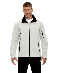 Natrl Stone 820 Men's Three-Layer Fleece Bonded Performance Soft Shell Jacket