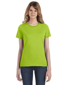 Key Lime Women's Fashion Ringspun T-Shirt