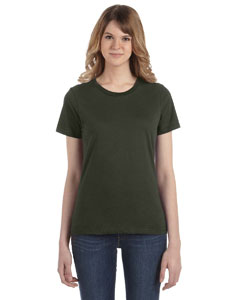 City Green Women's Fashion Ringspun T-Shirt