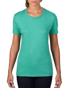 Heather Green Women's Fashion Ringspun T-Shirt