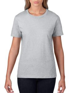 Heather Grey Women's Fashion Ringspun T-Shirt