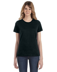 Black Women's Fashion Ringspun T-Shirt