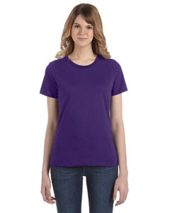 Purple Women's Fashion Ringspun T-Shirt