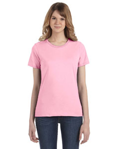 Charity Pink Women's Fashion Ringspun T-Shirt