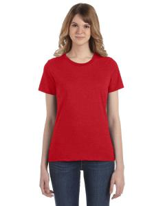 Heather Red Women's Fashion Ringspun T-Shirt