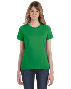 Green Apple Women's Fashion Ringspun T-Shirt