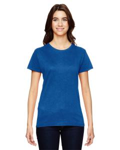 Neon Blue Women's Fashion Ringspun T-Shirt