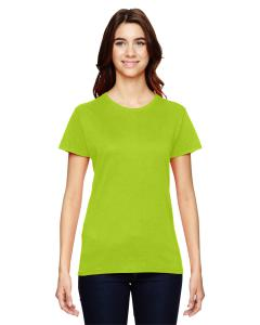 Neon Orange Women's Fashion Ringspun T-Shirt