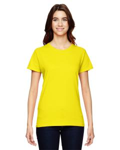 Neon Yellow Women's Fashion Ringspun T-Shirt