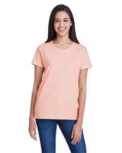 Dusty Rose Women's Fashion Ringspun T-Shirt