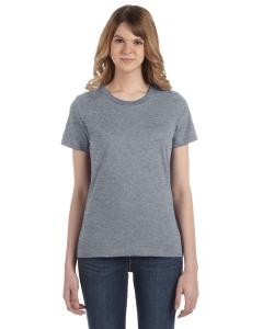 Heather Graphite Women's Fashion Ringspun T-Shirt