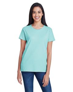 Teal Ice Women's Fashion Ringspun T-Shirt