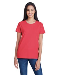 Coral Women's Fashion Ringspun T-Shirt