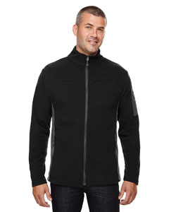 Black 703 Men's Microfleece Jacket