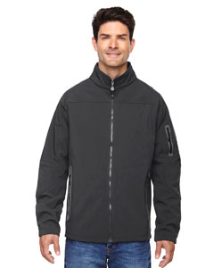 Graphite 156 Men's Three-Layer Fleece Bonded Soft Shell Technical Jacket