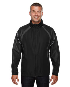 Black 703 Men's Sirius Lightweight Jacket with Embossed Print
