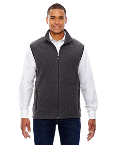 Hthr Chrcl 745 Men's Voyage Fleece Vest