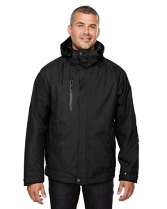 Black 703 Men's Caprice 3-in-1 Jacket with Soft Shell Liner