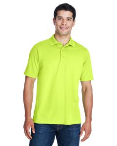 Safety Yellow Men's Origin Performance Piqué Polo