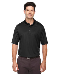 Black 703 Men's Origin Performance Piqué Polo