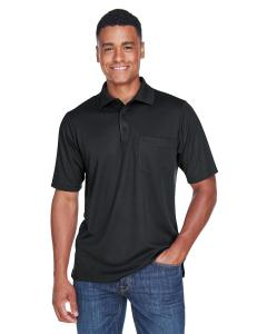 Black Men's Origin Performance Pique Polo with Pocket