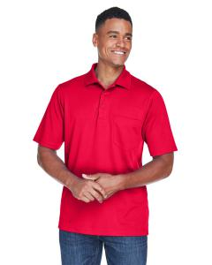 Classic Red Men's Origin Performance Pique Polo with Pocket