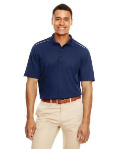 Classic Navy Men's Radiant Performance Piqu Polo withReflective Piping