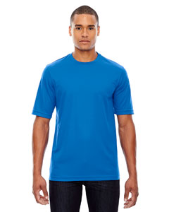 True Royal 438 Men's Pace Performance Piqué Crew Neck
