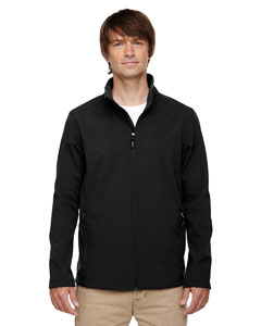 Black 703 Men's Tall Cruise Two-Layer Fleece Bonded Soft Shell Jacket