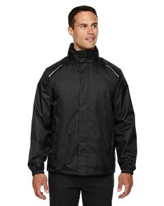 Black 703 Men's Climate Seam-Sealed Lightweight Variegated Ripstop Jacket