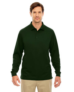 Forest Gren 630 Men's Pinnacle Performance Long-Sleeve Piqué Polo